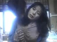 伝説美熟女優 小林ひとみ キッチンで息子に襲われ近親相姦セックス!