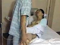 【ヘンリー塚本】入院患者は絶倫男!見ぬいた看護婦長が誘惑し病室セックス三昧