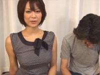 堀口奈津美 美熟女の超絶技手コキフェラに耐えたら童貞喪失権!Tube8
