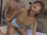 【懐かしAV】小沢まどか 細身の姉さん酔わせてガッツリアクメ連発セックス!