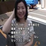 48歳Gカップ巨乳の美熟女ゆう子の悶絶アクメ