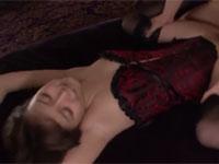 葵つかさ 上と下の口にチンポを欲しがる彼女と潮吹き3Pセックス!Tube8