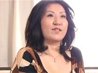 藤木静子 チョイぽちゃの上品な五十路熟女がベテラン男優のテクにメロメロセックス