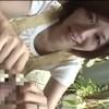 翔田千里 わぁ皮のびるー!美人なオバさんが包茎チンポを大喜びで弄ってフェラ!