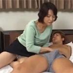 里中亜矢子 五十路美熟女が巨根息子とねっとり近親相姦セックス!