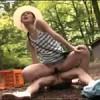 虫取り中に母親が落下!下にいた息子のチ○ポが奇跡的にイン!