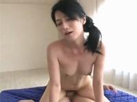 七海ひさ代 美人すぎる五十路熟女な友人の母とセックス!