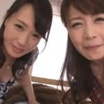 安野由美 三浦恵理子 人気美熟女二人が主観淫語でチンポ取り合いセックス!