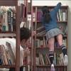 新しく図書委員になったメガネっ子がミニスカでパンチラしまくりだったから思わず痴漢したら…..