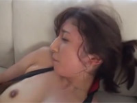 長谷川栞 スレンダー美熟女妻を縛り電マ責めセックス最後はお掃除フェラ!
