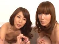 結城みさ 澤村レイコ Mな美熟女二人に無理やり連続射精させられる早漏な僕!