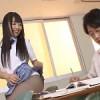 【つぼみ】イジメっ子な女子校生がパンストパンチラで誘惑してきて杭打ち騎乗位で中出し