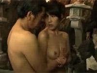【ヘンリー塚本】美熟女とダンディオジサンの激しい温泉不倫!結城みさ