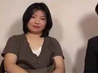 石橋ゆう子 夫とともに五十路巨乳熟女妻がAV出演依頼!激しいセックスを見守る夫