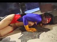 西園けい 熟女ヒロインがコスチュームを破られ電マや陵辱の限りを尽くされる!