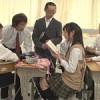 持ち物検査で見つかった官能小説を朗読させられる女子校生!そして輪姦へ……!