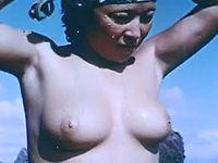 50年前の海女さんたちの素潜りシーンがエッチだぁああwww