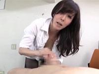 澤村レイコ え、もうイッちゃうんですか?美熟女淫語フェラ手コキM男君たまらず絶頂!