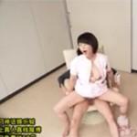 円城ひとみ 熟女ナースが採取精液をこぼしてしまい自らの膣で採り直し!