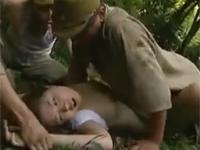 【ヘンリー塚本】田舎娘を山道でレイプしてしまう軍人男たち