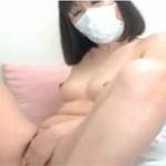 【無修正】ライブチャットで段腹な五十路熟女が激しくオナニー!