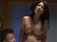 七海ひさ代 美熟女社長妻を元従業員復讐レイプ!縛り剃毛イラマチオ!