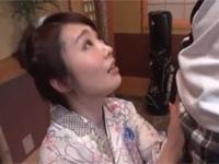 【無修正】和服四十路熟女が玄関おもてなし即尺フェラ発射! xvideos