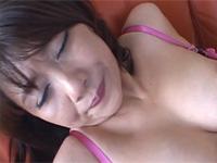 【初撮り】五十路美熟女ハメ撮りで激しいピストンから顔射されてニッコリ!
