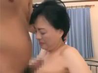 【高齢熟女】サラ金の借金で初撮り出演の還暦六十路熟女がセックス!