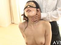 【無修正】美熟女江波りゅうさんに濃厚な精液を利きザーメンしてもらいました!xvideos