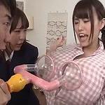 おっぱいを爆乳化させる発明アイテムで妹をZカップにしたお兄ちゃんが発情しちゃって近親相姦!