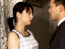 【ながえスタイル】不倫妻が盗撮ビデオを突きつけられセックス強要される 君島冴子