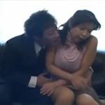 【無修正】セレブ四十路熟女が口止めと脅され自宅ソファー丸見えセックス!busty marin feels like fucking xvideos
