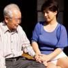 「わしゃあ、幸せだよ…」80歳老人の義父が41歳嫁を抱いて大量射精! 鮎原いつき