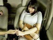 車載カメラは見ていた!妻が助手席で同僚の男に股をひろげパコパコしているのを!