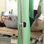 「先生…これって診察ですか…?」悪徳産婦人科医が検査で来た若妻に子種注入!