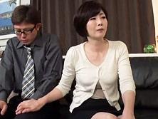 五十路の嫁の母とAV鑑賞する羽目になり、セックスに発展してしまう娘婿 竹内梨恵