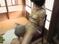【ヘンリー塚本】美術教師が元教え子を縛りモデルに絵を描きながらクンニセックス