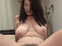 【無修正】旦那さんとレスな黒髪垂れ乳熟女と丸見えセックス!japanese cougar kanako tomoi doggystyle sex xvideos