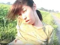 【無修正】河原で熟女と丸見え青姦セックス アナルまで丸見え!uncensored japanese sex xvideos