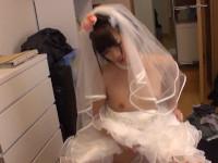 【無修正】可愛いパイパン新妻とウエディングドレスで丸見えセックス!成宮ルリjapanese bride ruri narumiya got fucked uncensored xvideos