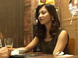 【熟女ナンパ】相席居酒屋でめっちゃガードの固い美魔女妻をなんとかGET!