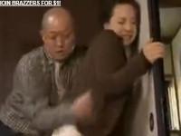 【ヘンリー塚本】ナニスルノヤメテ!熟女は娘婿に襲われ拒否しつつも受け入れ感じてしまう