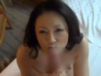 【熟女ナンパ】五十路奥様とホテル行ったら年上らしくリードしてくれるセックス!