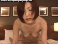 【無修正】ショートヘアの美熟女奥様と巨根男が丸見えセックス! cheating wife nanako haruna is moaning while getting banged hard xvideos