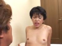 【無修正】その辺にいそうな五十路熟女オバちゃんが応募出演セックス!jp mature facked youngman