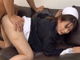 院長の息子に後ろからぶち込まれる四十路の看護師長 三浦恵理子