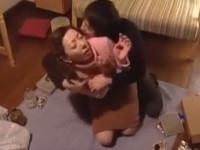 【無修正】五十路熟女 なき娘の夫と慰め合う義親子セックス! A Japanese Mothers Sexual Passion !