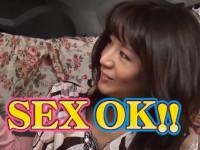 【熟女ナンパ】五十路セレブ風美奥様を拝み倒しセックス!はじめ拒否ってたけどいざ始まるとスゴい!ほか