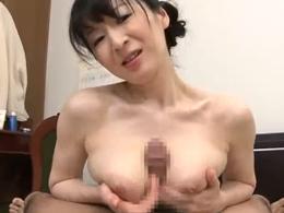 お義母さんが教えてあげる 膣から滴る息子の精液に欲情する母 大橋ひとみ